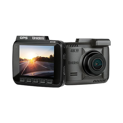 UNIDEN 4K DASH CAM GPS WI-FI
