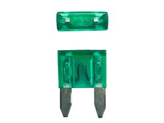 Mini blade fuse 50 Pack (30A)
