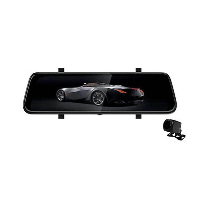 """AXIS 9.3"""" DVR REARVIEW MIRROR"""
