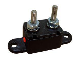 Manual Reset Circuit Breaker Plastic Inline Mount (25A)