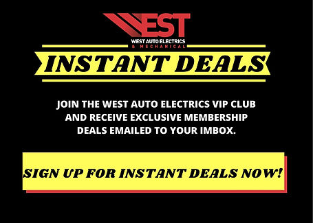 JOIN THE WEST AUTO ELECTRICS VIP CLUB AN