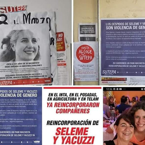 Reincorporación de las trabajadoras de PAMI Tucumán despedidas y perseguidas YA!