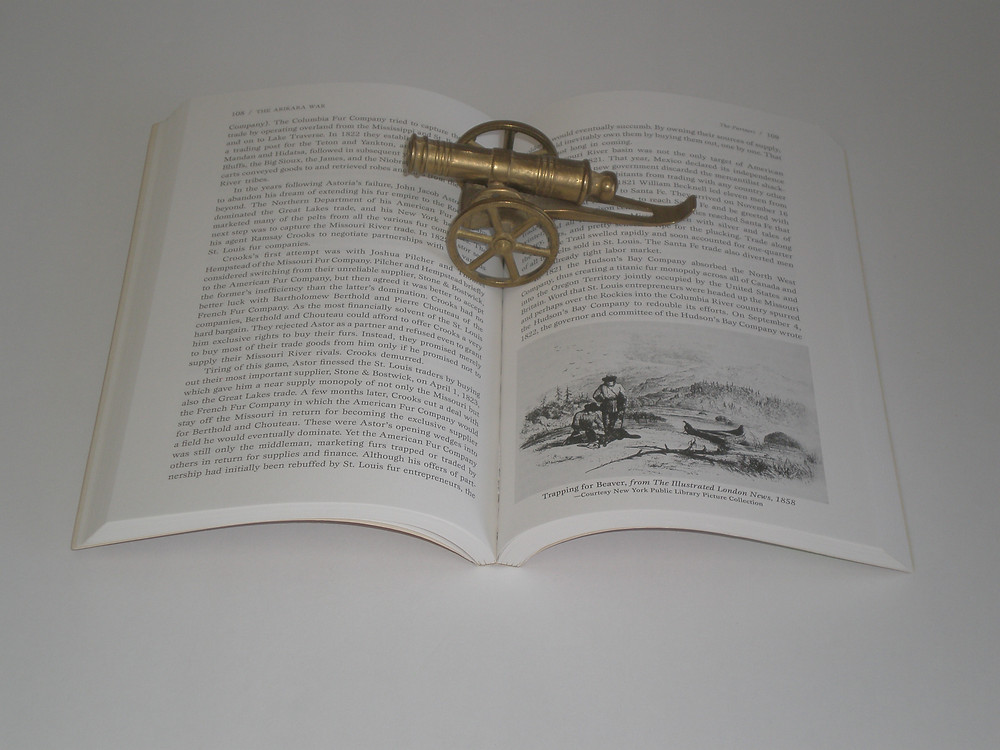 Multiple military history works can be found at the Captain's Book Shoppe.