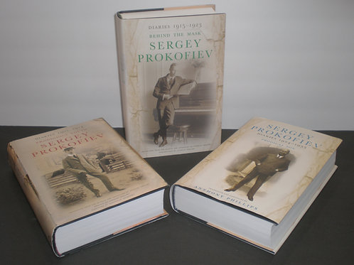 Sergey Prokofiev 3 Vol Set