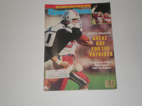 Sports Illustrated, January 13, 1986.