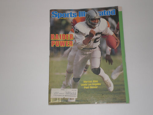 Sports Illustrated December 16, 1985