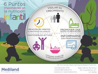 6 Puntos Importantes en la Nutrición Infantil
