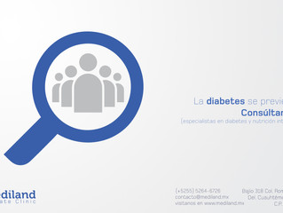 ¡La diabetes es prevenible!
