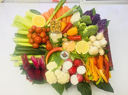 סלסלת בריאות ירקות