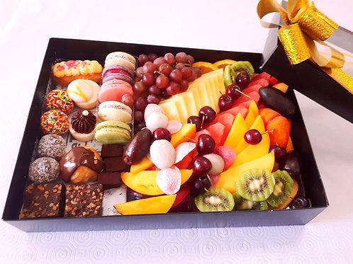מיקס פוטיפורים פירות ושוקולד