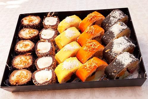 24 יחידות סושי מיקס פירות ושוקולד