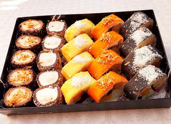 24 יחידות סושי פירות ושוקולד
