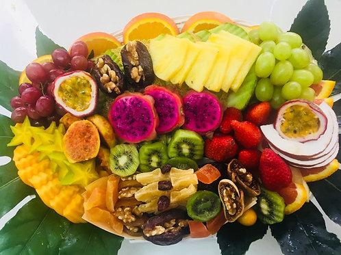 מיקס פירות יבשים וטריים