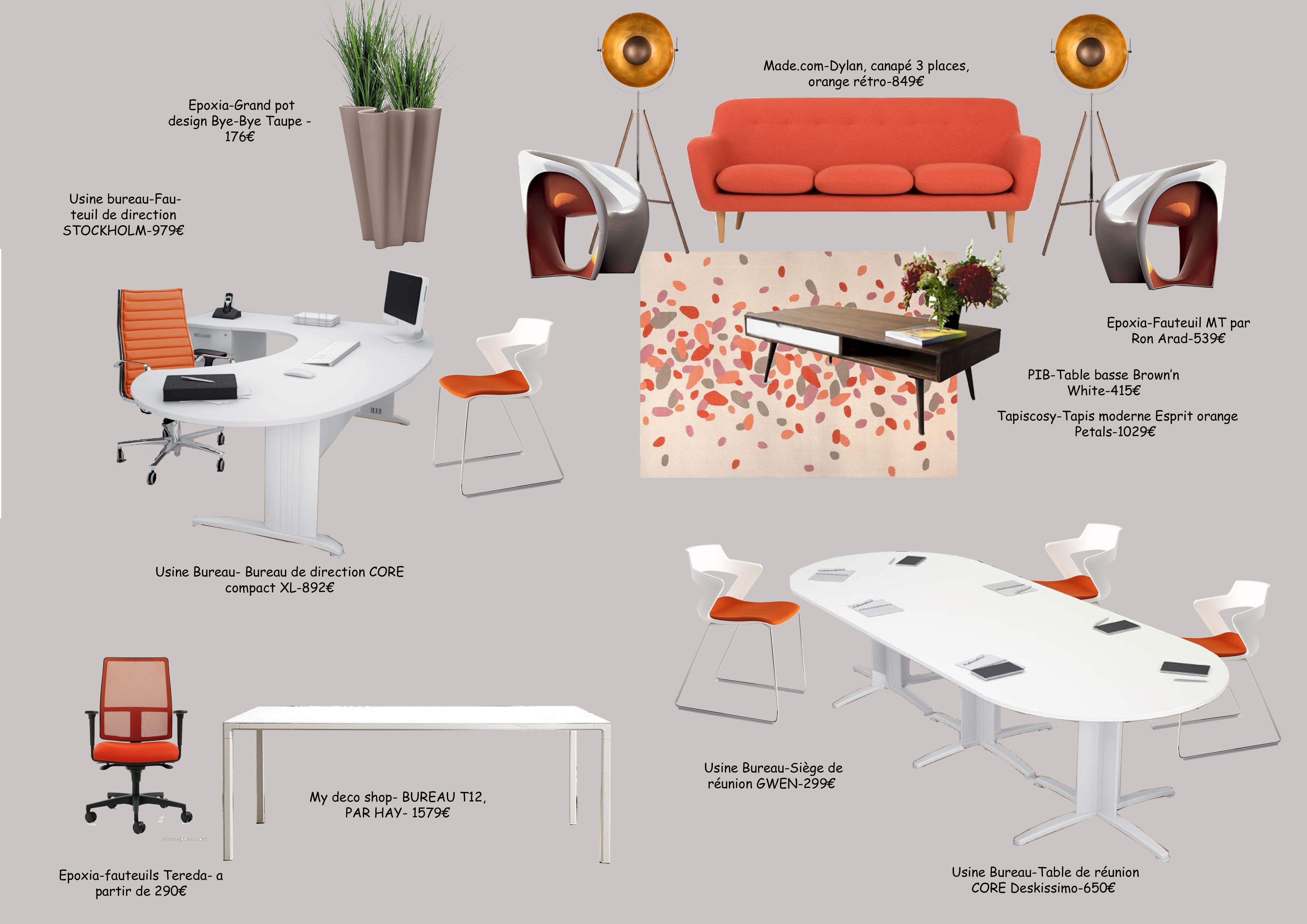 Concept de bureaux...