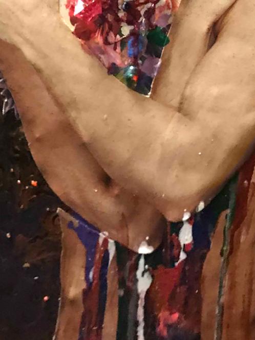 Collage MAN IN LOVE, 40Х50