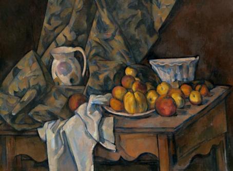 法國藝術家 保羅塞尚 Still Life with Apples and Peaches