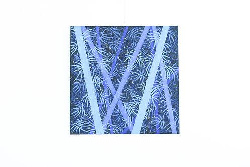 竹林中的光彩(藍)