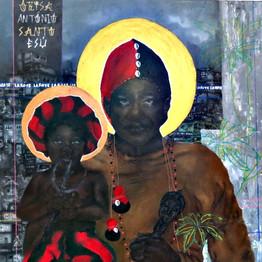 Saint Anthony and Little Saint Anthony