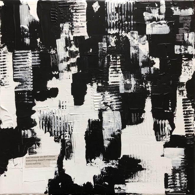 Ludwika Pilat - Know Acrylic, mixed medi
