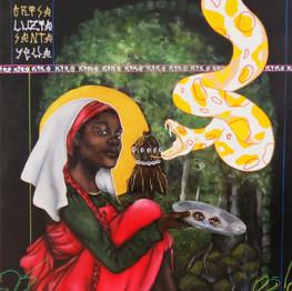 Saint Luzia, mother of my eyes
