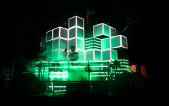 Live+From+Space+CUBIX+Projection+Mapping