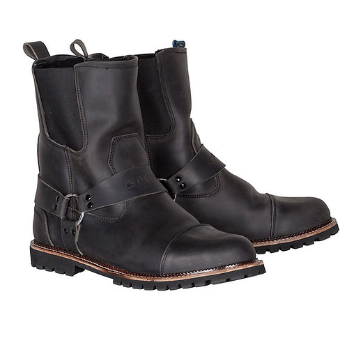 Spada Kensington Rigger WP Boots Distressed Black