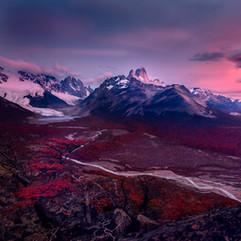 Los Glaciares before the storm