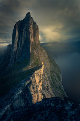 Segla mountain, Norway