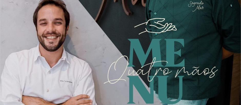 Imperdível: Marco Espinoza e Elia Schramm assinam menu exclusivo e limitado, no Sagrado Mar