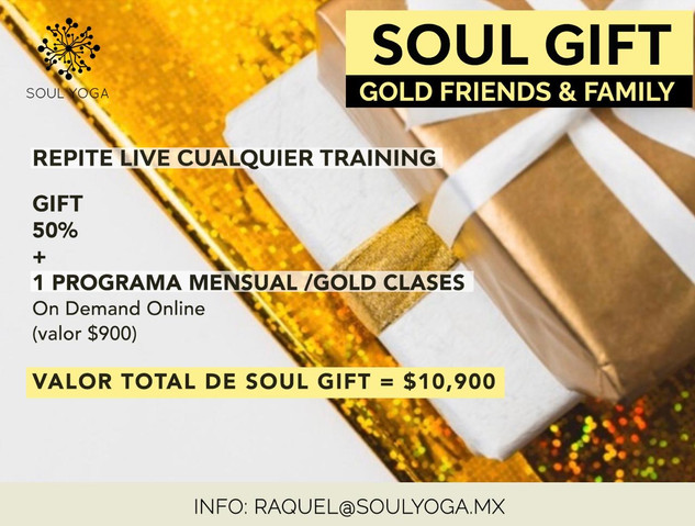 SOUL GIFT GOLD FRIENDS AND FAMILY