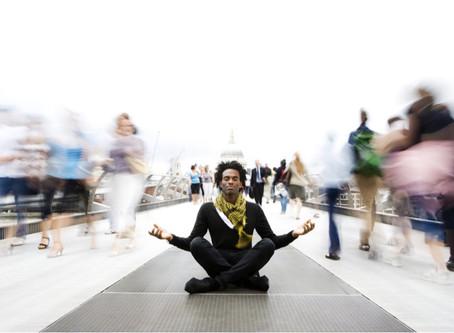 Encontrando la paz al margen de los sentidos