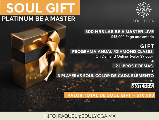 SOUL GIFT PLATINUM BE A MASTER