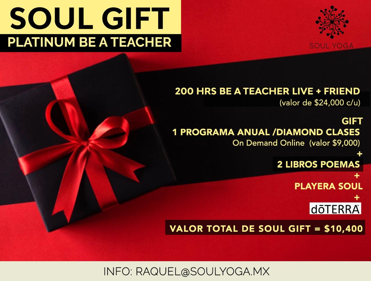 SOUL GIFT PLATINUM BE A TEACHER