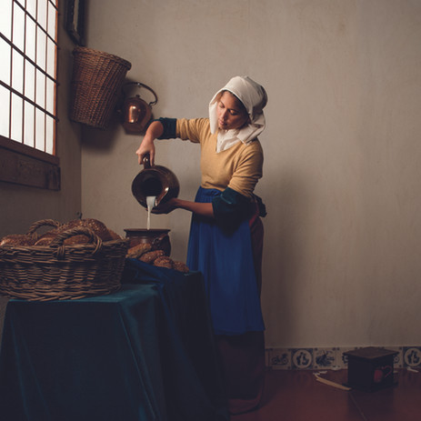 Melkmeisje - Vermeer