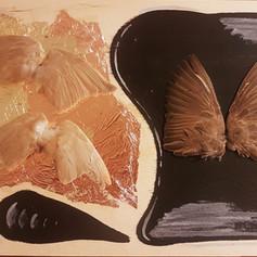 Deborah Suzanne Lander, response to Three Butterflies