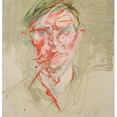 Dennis Wirth-Miller, Portrait of a Man ||