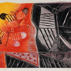 Michael Rothenstein, Three Butterflies