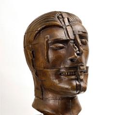Sir Eduardo Paolozzi, Head