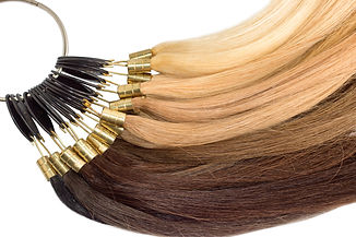 Premium hair extension palette with colo