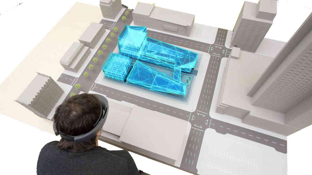 Maquette numérique urbaine et réalité augmentée   BIM & BTP
