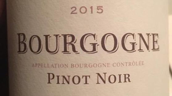 Bourgogne, Pinot Noir 75cl