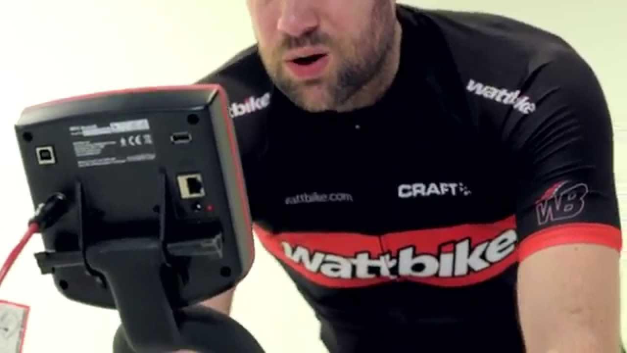 Wattbike Testing Session
