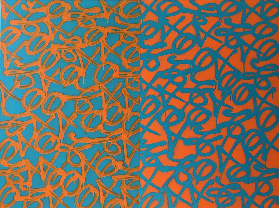 Orange and Cyan 2017