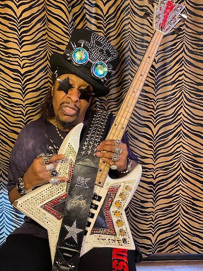 Bootsy Collins LK Embossed Signature Strap