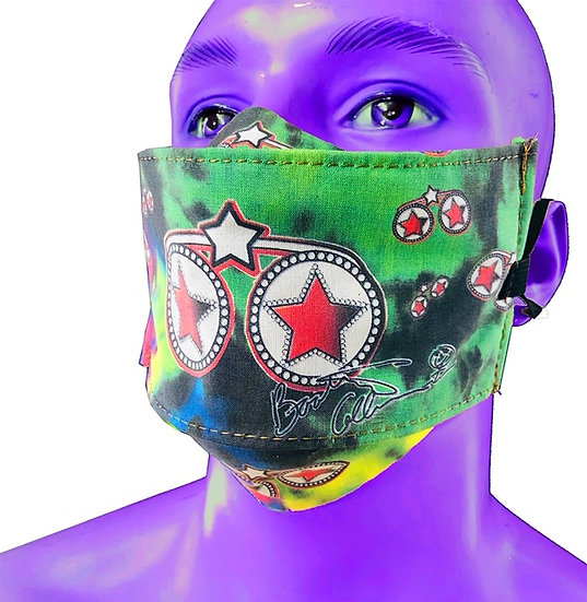 Bootsy By Beebs STARS MASK in Green