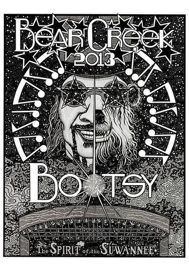 """""""Bootsy At Bear Creek"""" poster by Rex Thomson 18x24"""