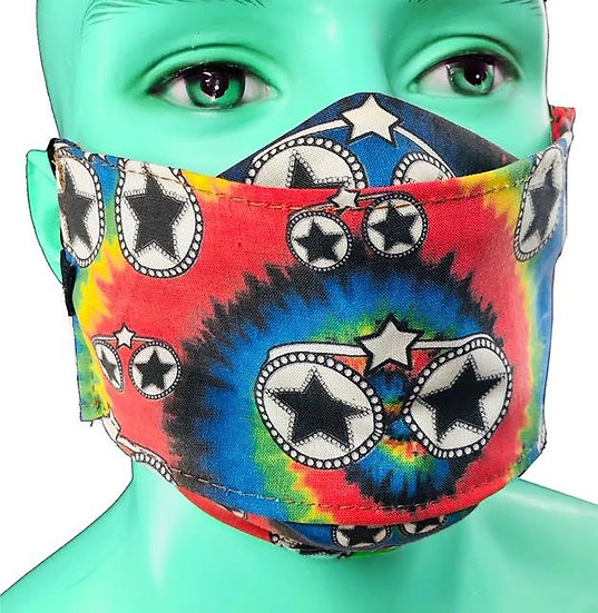 Bootsy By Beebs Star Mask in Rainbow