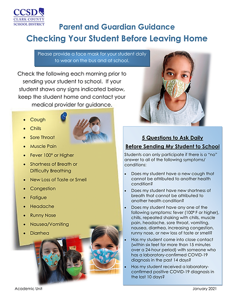 Parent Guidance - Checking Your Student