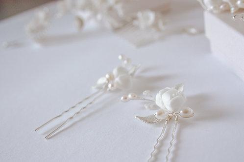Bridal pin - Flower