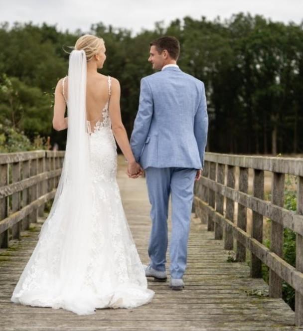 Leonie's bruiloft